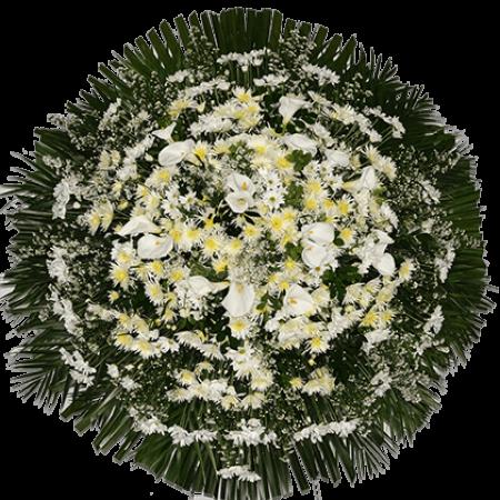 Coroa de Flores - Luxo 03