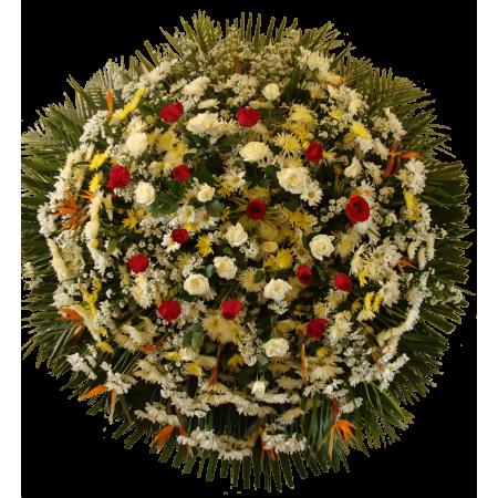 Coroa de Flores - Luxo 04