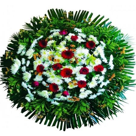 Coroa de Flores - Luxo 01